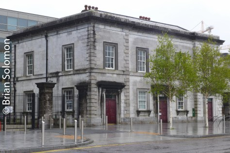The former offices for the Cork, Bandon & South Coast Railway near Albert Quay in Cork City.