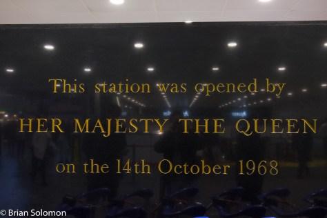 Euston Station, London.