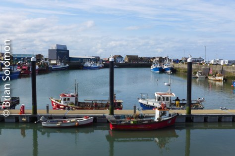 Howth Harbour. Lumix LX7 photo.