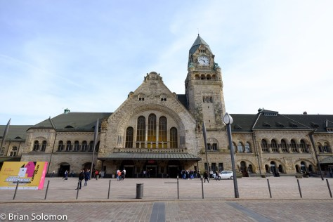 Metz Station exposed with a FujiFilm X-T1 with Zeiss 12mm lens.