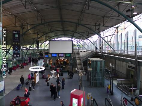 Lille Europe, TGV/Eurostar Station.