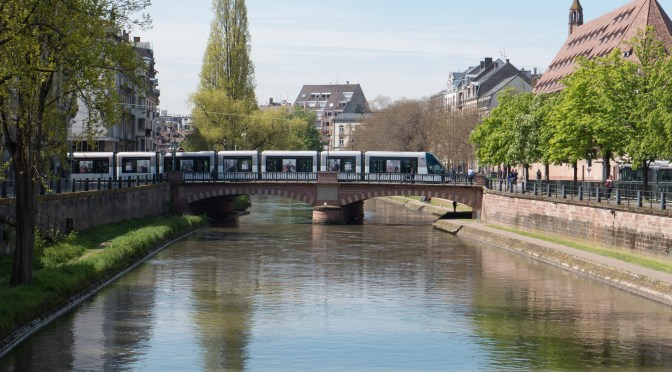 Strasbourg: 10 photos of Low Floor Trams in a Sophisticated European City