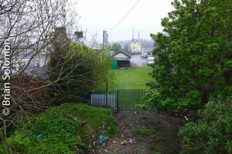 Site of Summer Hill station that once handled trains working the line toward Cobh.