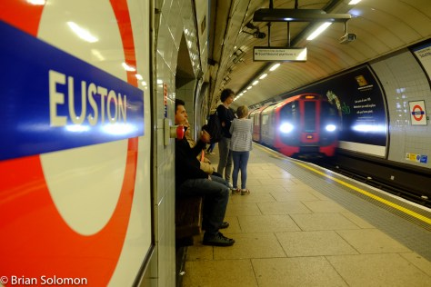 This is London Euston, please mind the gap!