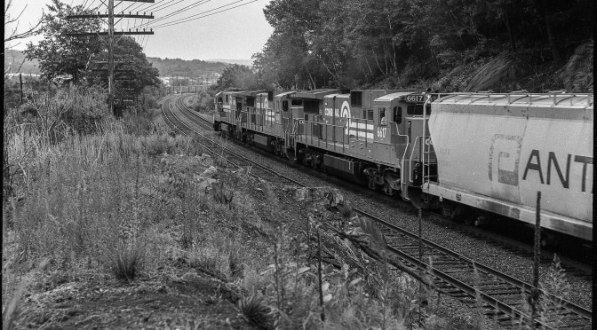 Conrail-Looking Back; Anticipating Change.