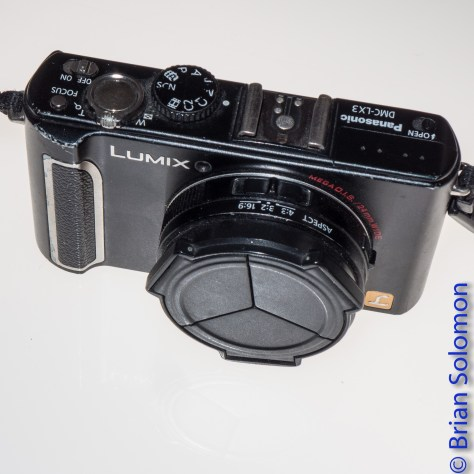 Here's my first digital camera, a Panasonic Lumix LX3. I bought on the recommendation of Eric Rosenthal, who lent me one to test. I made my first photos with it in October 2009. After more than 65000 exposures it developed a fault and I replaced it with a Lumix LX7 (with which I made this image). Over all, I like the LX7, but I wonder if it will prove as durable as the LX3?