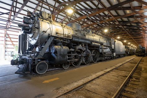 Chicago, Burlington & Quincy 4-6-4 at IRM.