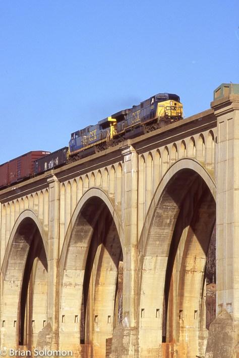 Railway bridges.