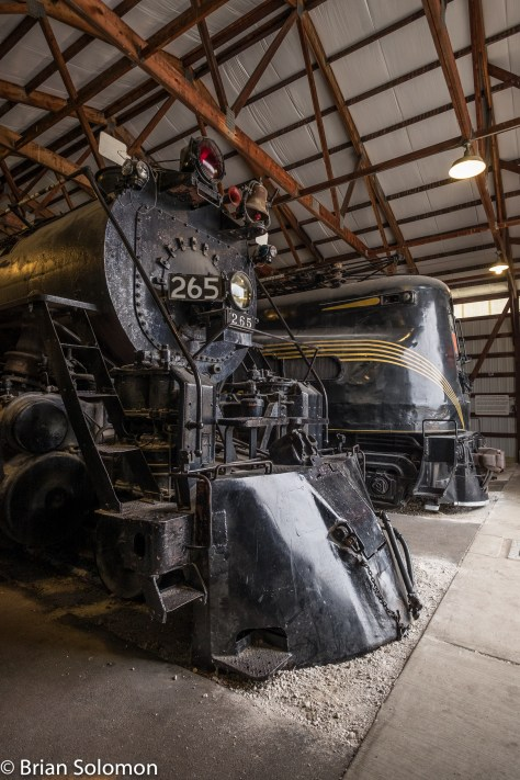 Sister to the popular Milwaukee Road 261 is engine 265. Sure would be neat to get both engines under steam together!