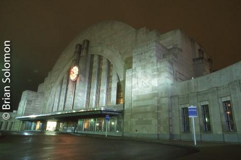 Cincinnati Union Station on October 25 2002.