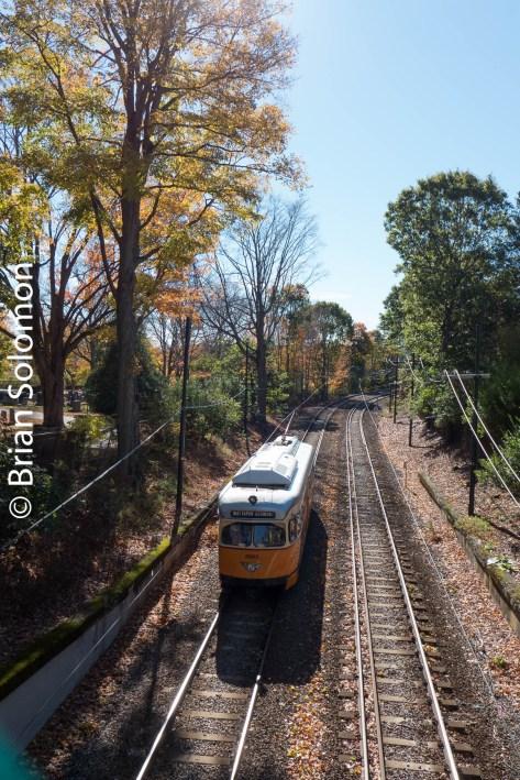 MBTA's Matapan-Ashmont line on October 25, 2014.