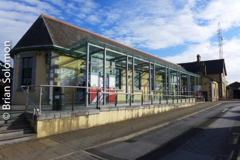 Irish Rail station building at Ennis. Saturday 22 October 2016.