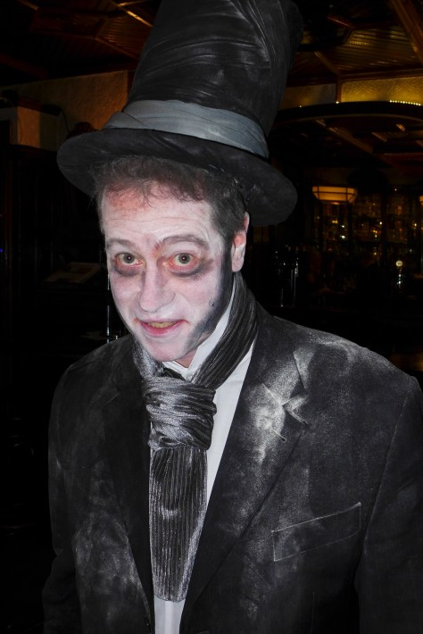 I was dressed as the Ghost of Isambard K. Brunel, the famously eccentric, highly regarded Victorian engineer and polymath.