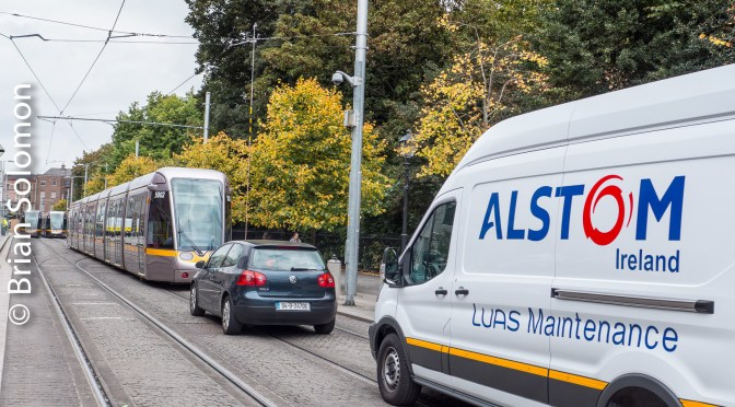 Tracking the Light Special Post: LUAS Green Line Service Suspension—7 October 2016