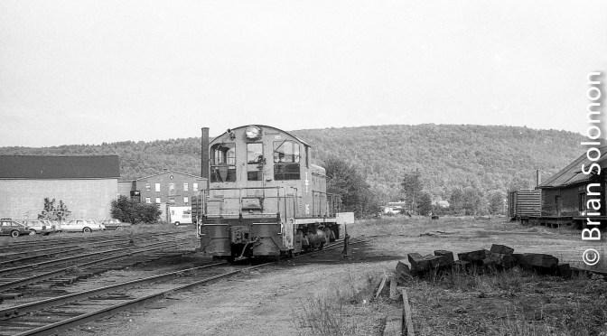 Lost Negative File—Boston & Maine at Keene, New Hampshire.
