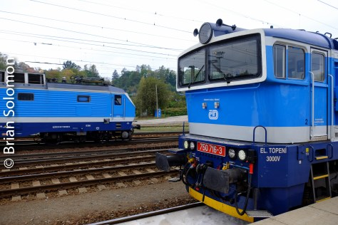 CD class 750 at Zebreh, Czech Republic.