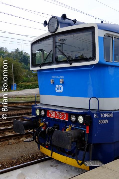 CD class 750 at Zebreh, Czech Republic.