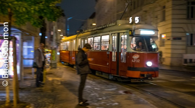 Vienna by Night; Take a Spin on the Tram.