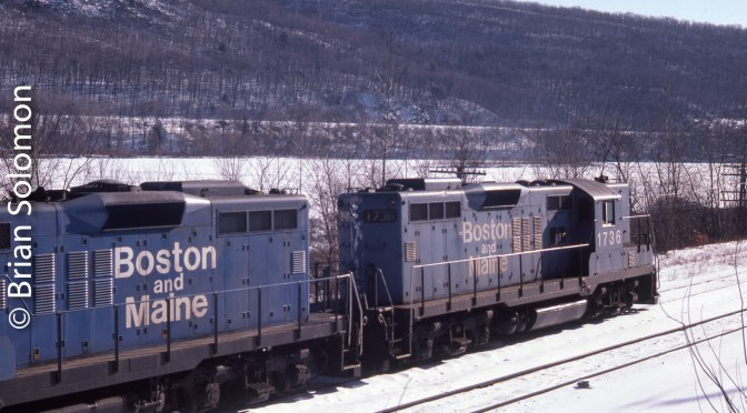 Boston & Maine, Brattleboro, on this day 31 Years Ago.