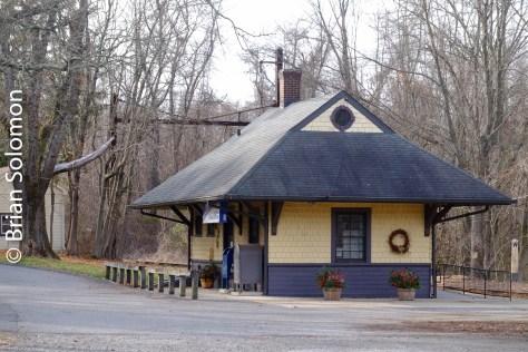 Cheyney Station. Exposed with a FujiFilm X-T1 digital camera.