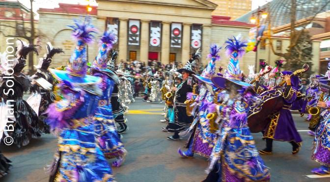 Philadelphia's 2017 Mummers Parade.