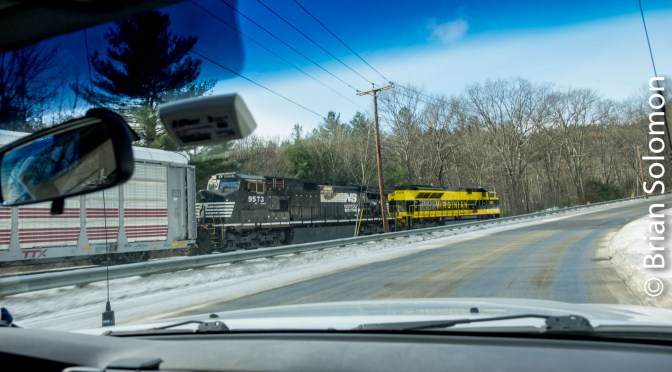 On the Roll with Norfolk Southern's Virginian Heritage Locomotive.