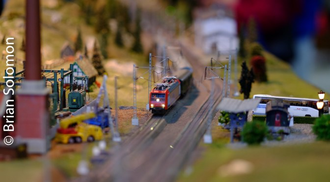 Long Lens, Small Trains; Another Take on last weekend's Railroad Hobby Show