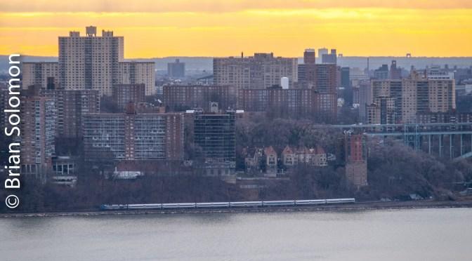 Sunrise at Spuyten Duyvil, The Bronx, New York—lessons in graduated filtration.