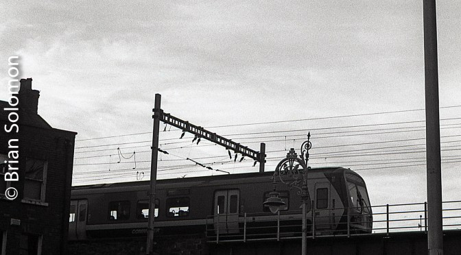 Irish Rail—Two Silhouettes.