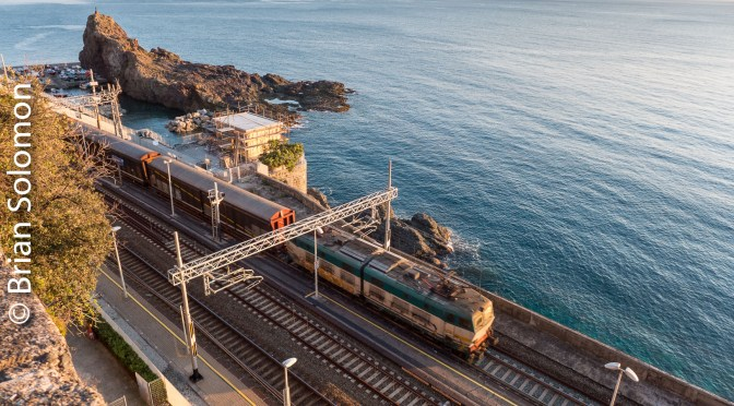 Freight on the Italian Mediterranean Coast.