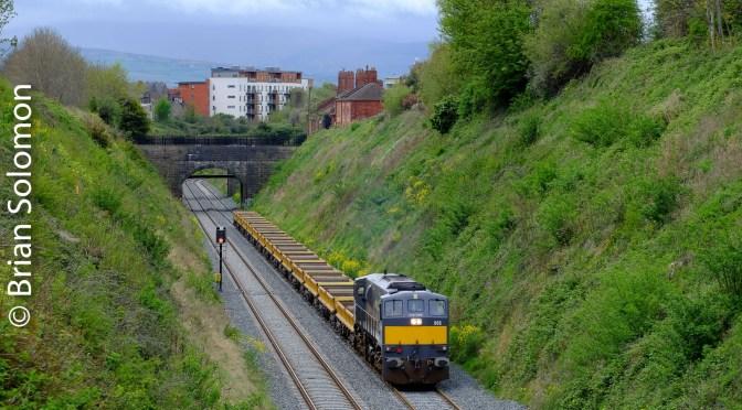Irish Rail at Cabra; Spoil revisited.