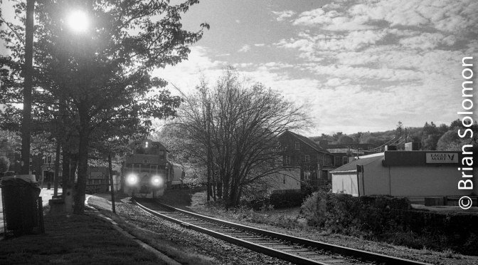 New England Central at Stafford Springs, Connecticut—Again.