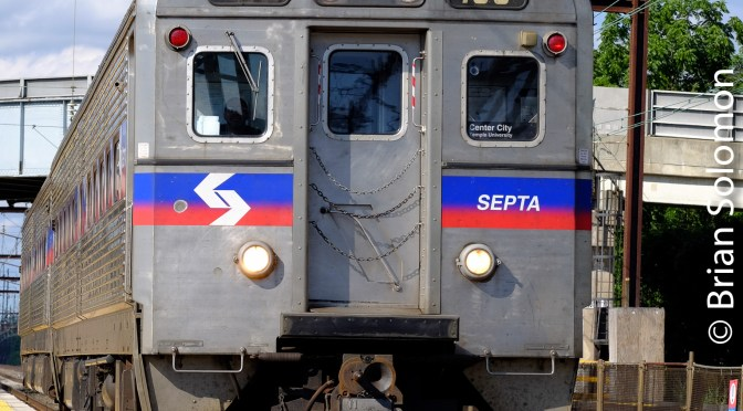 SEPTA Silverliner IVs  on the Northeast Corridor—July 2017.
