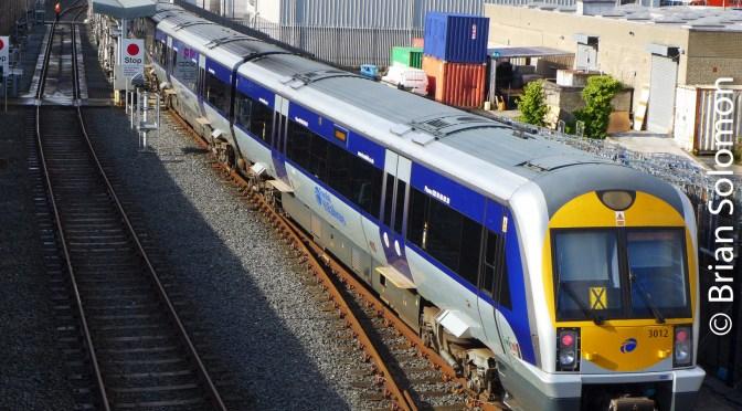 NI Railways at Adelaide Depot, Belfast.