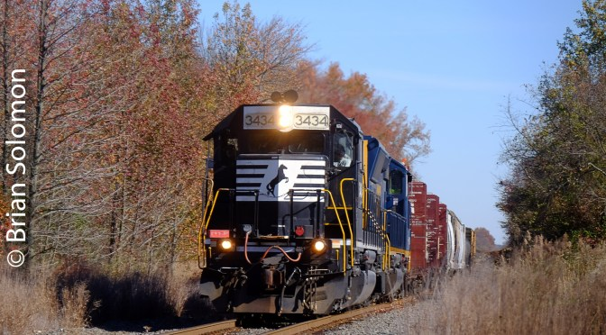 Bright Day on the Pennsylvania-Reading Seashore Lines—6 New Digital Photos.