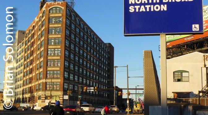 SEPTA views at North Broad, Philadelphia.
