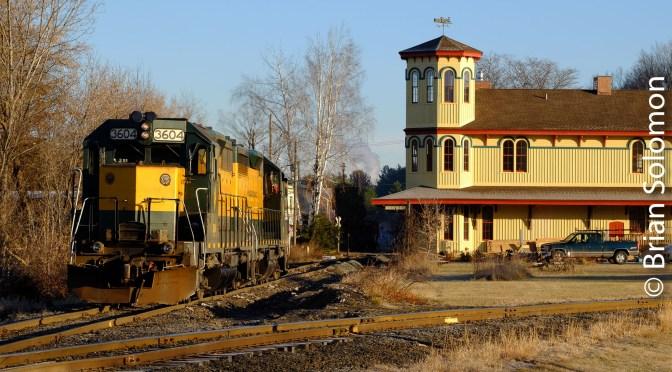 Housatonic Railroad at Canaan Union Station—November 2017.