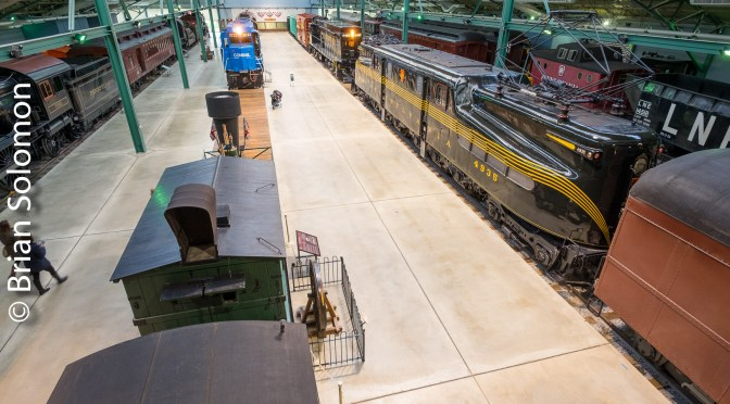 Railroad Museum of Pennsylvania-A Dozen New photos.