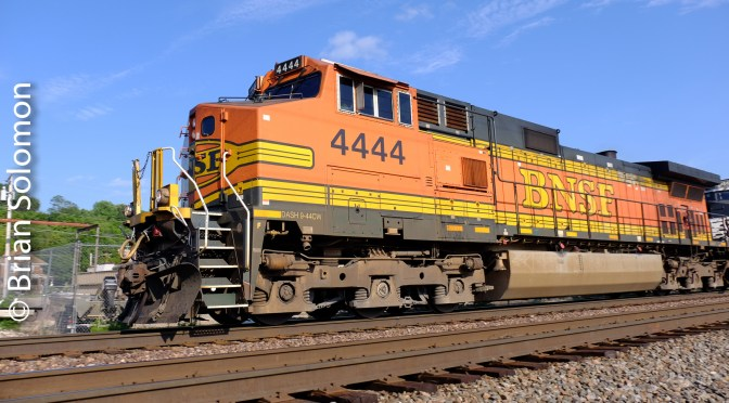 BNSF's Four Fours. (It's about a number).