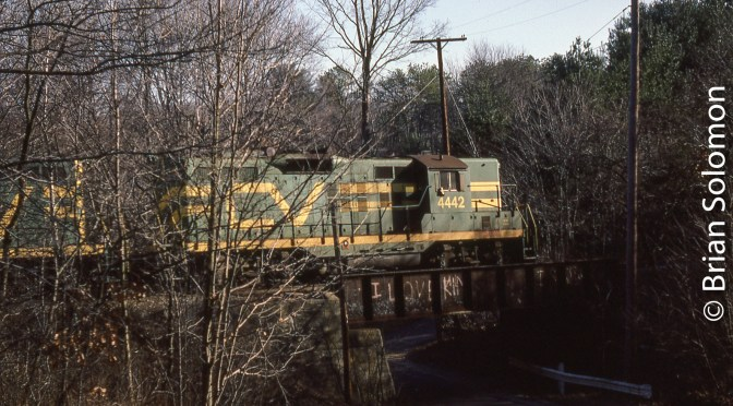 Central Vermont Railway Ended 23 Years Ago Today (February 3, 2018)