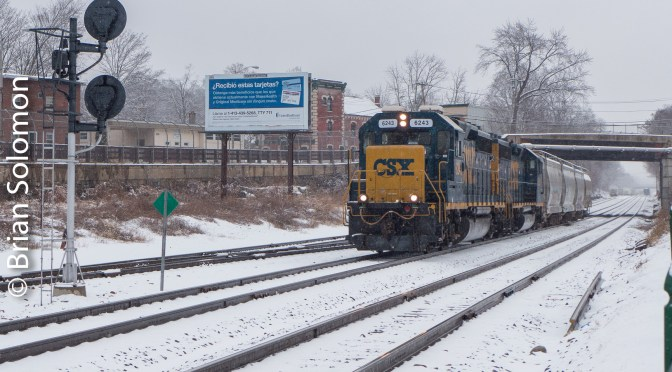 CSX in the Snow.