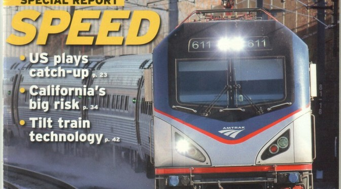 March 2018 Trains Magazine Features My Photo of Amtrak 611.