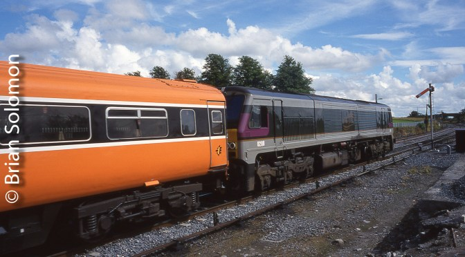 Class 201 Retrospective: Northern Irish Railways 8208 Everywhere but the Enterprise.