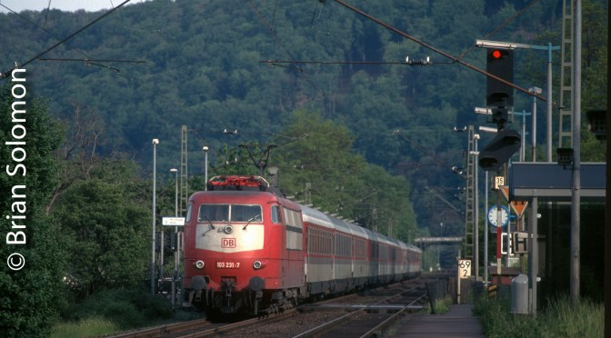 Classic Chrome: On this day, 24 May 1996 Views along the Rhein.