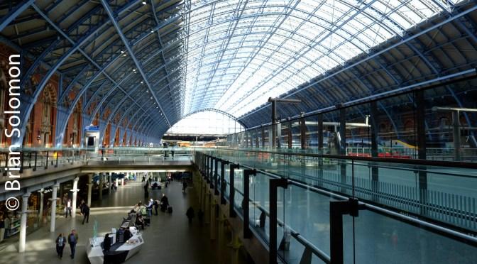 London St Pancras Station on 3 May 2016.