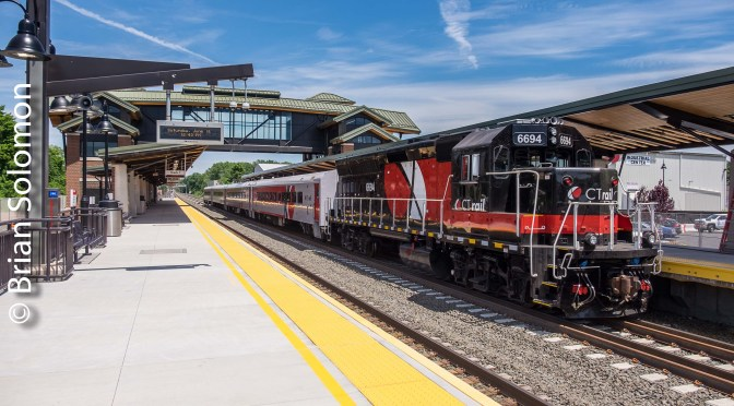 New CT Rail Hartford Line Commuter Trains—First Day in Eight Photos!