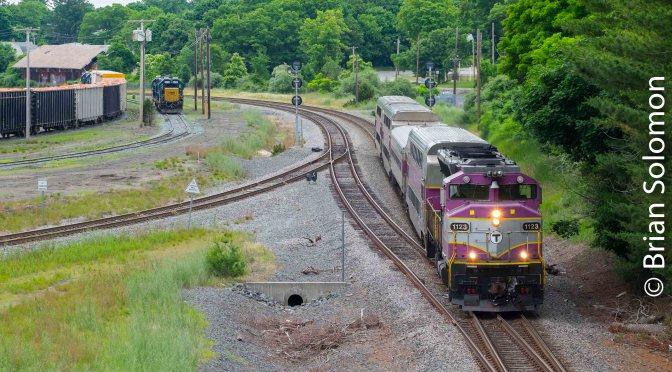 Memory and MBTA at Middleborough.