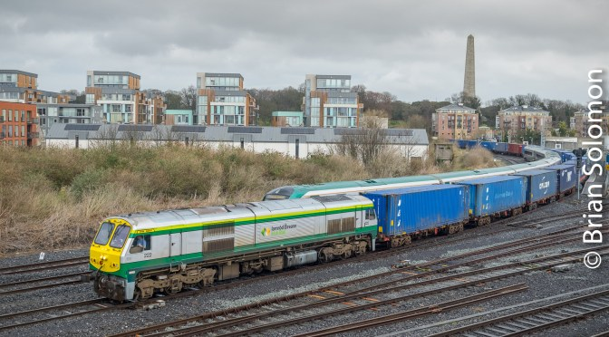 Irish Rail 222—The Bishop.