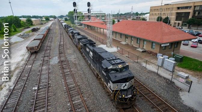 Norfolk Southern at La Porte, Indiana—July 2018.