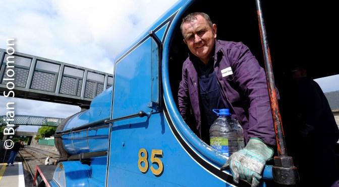 Great Northern Compound Under Steam at Portarlington—Five Photos!